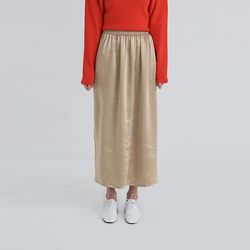bronze banding long skirt (2colors)