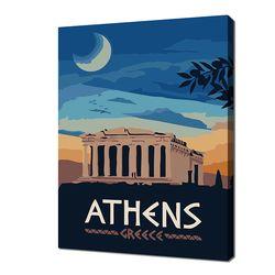 [명화그리기]2030 미니여행-아테네 14색 일러스트