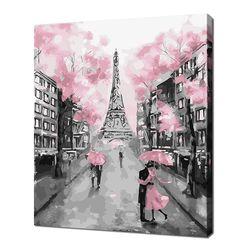 [명화그리기]3040 봄의 향기 인 파리 일러스트 풍경