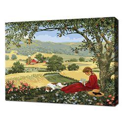 [명화그리기]4050 에이번리 마을 언덕-앤의 청춘 27색 풍경화