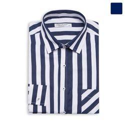 스트라이프 포켓 셔츠 SHT394