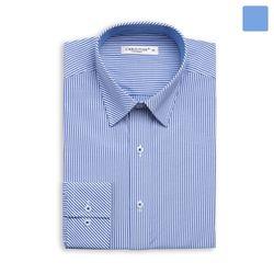 블루 잔 스트라이프 셔츠 SHT376