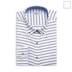 사선 스트라이프 셔츠 SHT372