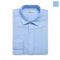 블루 스카이 도트 셔츠 SHT368