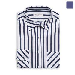 나인틴 스트라이프 포켓 셔츠 SHT363