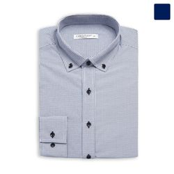 클래식 잔 체크 셔츠 SHT357