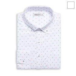화살표 도트 패턴 셔츠 SHT355