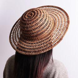 라탄 엣지 모자