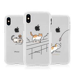 [Try]냥이의하루 젤리 케이스.아이폰5S(SE)
