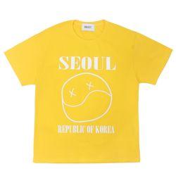 오브젝트 SEOUL SMILE T-SHIRTGOLD