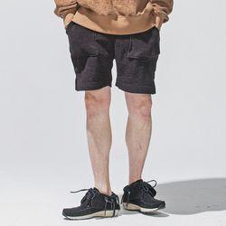 hug+ wear 대나무섬유 하프팬츠(블랙)