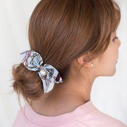 루프 리본 곱창 머리끈
