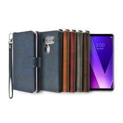 LG V30 V35용 캐시 지갑 다이어리 케이스