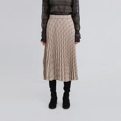 clever pleats skirt (2colors)
