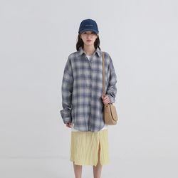 poter check boxy shirt (3colors)