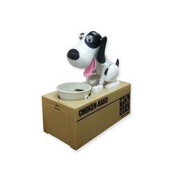 동전먹는 강아지 (점박이바코) 장난감저금통