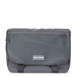 WIDE VISION MESSENGER BAG - CHARCOAL