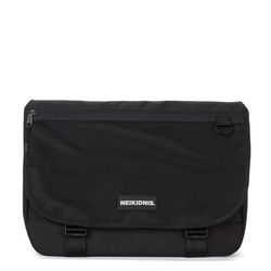 WIDE VISION MESSENGER BAG - BLACK