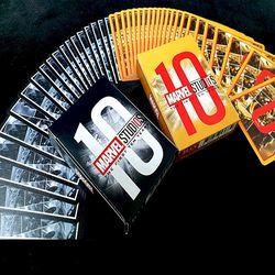 JLCC 마블 어벤져스 10주년 캐릭터 덱 플레이 카드