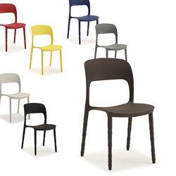 코아 빈티지 디자인 의자 7color (2개세트) CO02