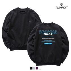 뉴해빗 - back next - 기모 맨투맨 - (SBM9s-7066)