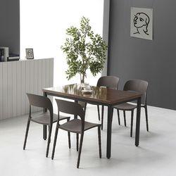 코아 4인용 1200 철제 식탁 테이블 3color (설치기사 조립) CO09