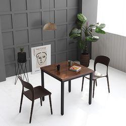 코아 2인용 750 철제 식탁 테이블 3color (설치기사 조립) CO07