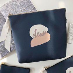 방수 Dear pouch (DEAR-NAVY) - L size