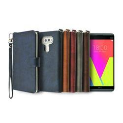 LG V20용 캐시 지갑 다이어리 케이스