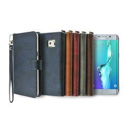 갤럭시S6 엣지 플러스용 캐시 지갑 다이어리 케이스