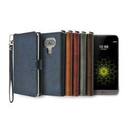 LG G5용 캐시 지갑 다이어리 케이스