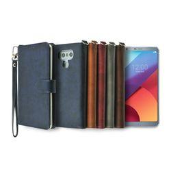 LG G6+(G6)용 캐시 지갑 다이어리 케이스