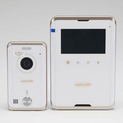 코콤비디오폰 칼라LED 4.3인치 KCVR431E 화이트