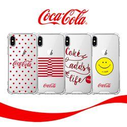 스키누 x  Coca-Cola 투명케이스-갤럭시 노트8