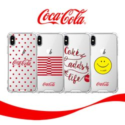 스키누 x  Coca-Cola 투명케이스-갤럭시 노트9