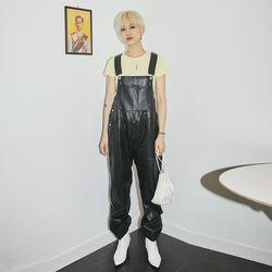leather overalls - UNISEX
