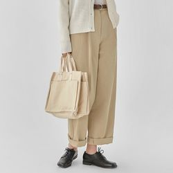 glam wide cotton pants (s m)