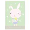 토끼 엽서