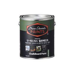 던에드워드 실내용 칠판페인트 1GA(약4리터)