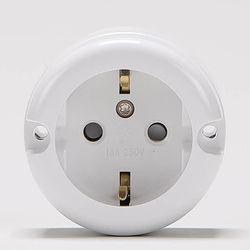 1구콘센트 노출용 단선용 일신전기