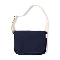 마지언타이틀 러너스백 Runners bag (navy ecru)