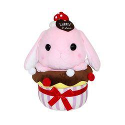 일본 아뮤즈 정품 롯삐 컵케이크 인형 미미뿅 45CM