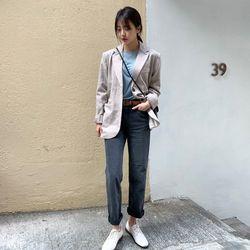 robust straight pants (s m)