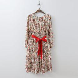 Multi Floral Fit N Flare Dress