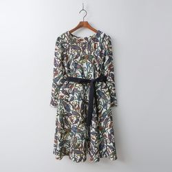 Paisley Fit N Flare Dress