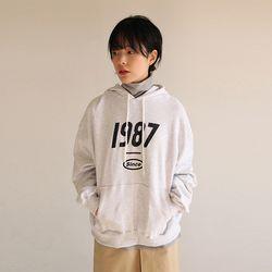 1987 lettering hoodie (3colors)