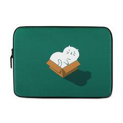 [~2/28까지] Cat in the box (13-14인치) 노트북파우치