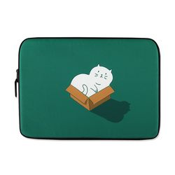 [~2/28까지] Cat in the box (15인치) 노트북파우치