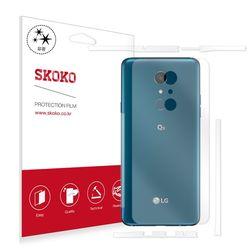 스코코 LG Q9 유광 후면+측면 액정보호필름 2매