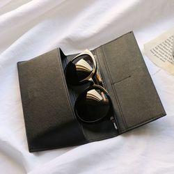 렌토 안경케이스 지갑 - black